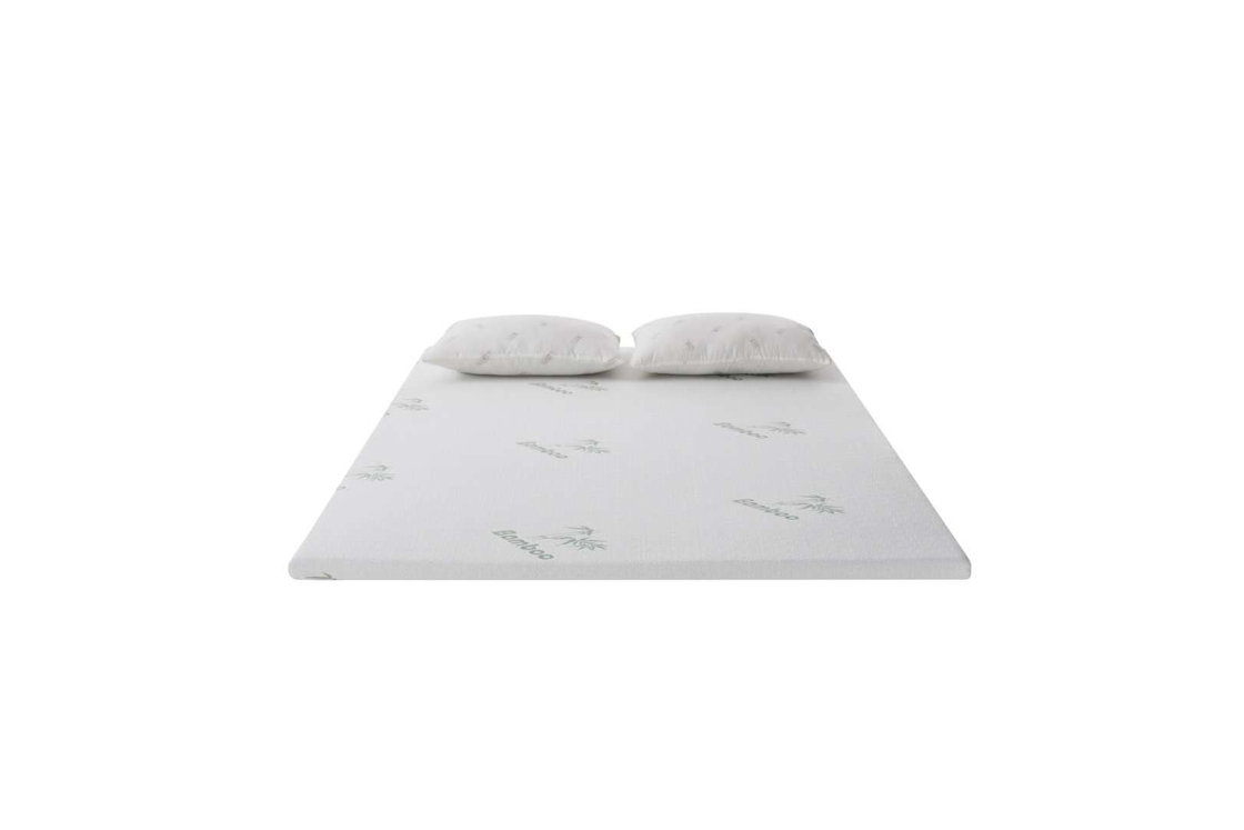 Comfortable Soft Euro Top Mattress Topper With High Resilience High Density Foam