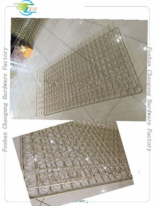 Gold Plated Mesh Mattress Bonnell Spring Unit Full / Queen / King Size Available