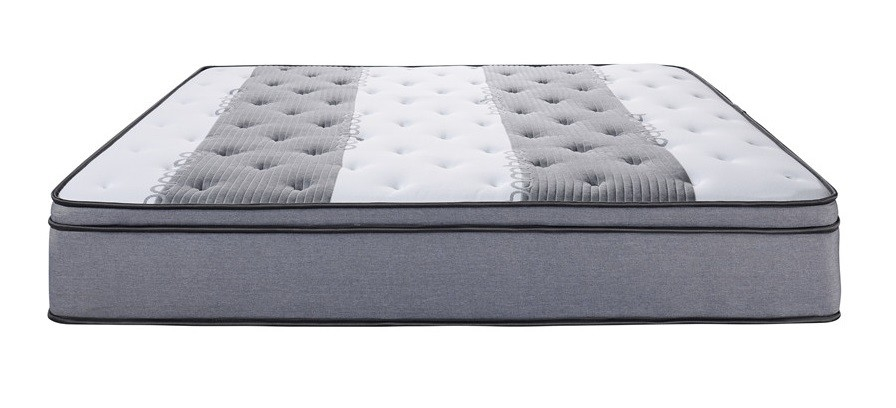 Minimalist Style Reinforced Pocket Spring Mattress Vacuum Compress Packing Customizable